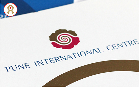 Identity for Pune International Centre.